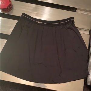 Women's Nike Black Tennis Skirt